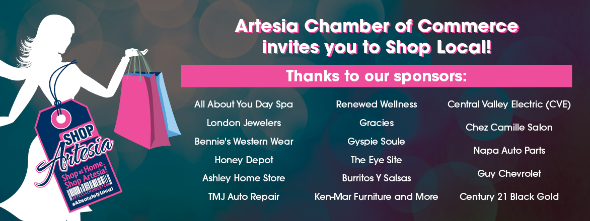 ShopArtesia 2018 Sponsors Web Banner