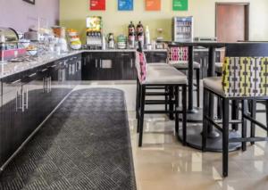 Comfort Inn Artesia NM breakfast bar