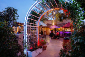 Adobe Rose Inn Artesia NM courtyard